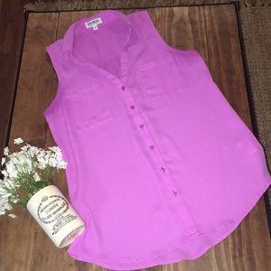 Express lavender / light purple portofino shirt